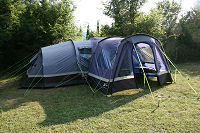 "Camp Full Monte ""Mansion"" size hire tent"