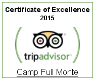 See trip advisor reviews for Camp Full Monte